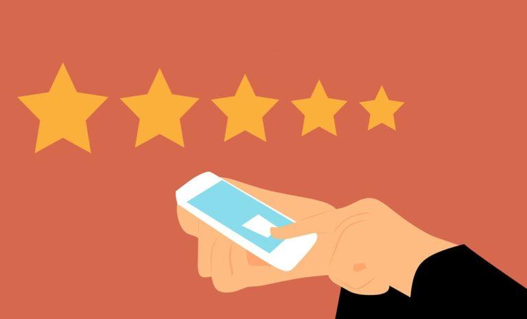 rating, phone, customer